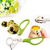 1 Creative Kitchen Gadget / Easy Cut / Multi-Função Aço Inoxidável / Plástico Utensílios de Ovo