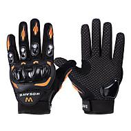 WOSAWE Akvitita a sport Cyklistické rukavice Nositelný Protiskluzový povrch Ochranný Celý prst Horská cyklistika Silniční cyklistika