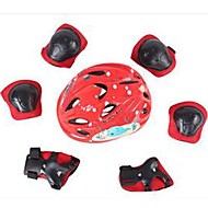 아동 보호 장구 용 산악 사이클링 도로 사이클링 사이클링 아이스 스케이팅 스케이팅 압축 진동 감쇠 두꺼운 안전 장치 1 세트 트레이닝 산악 자전거 자전거 아웃도어 의류 EPS+EPU