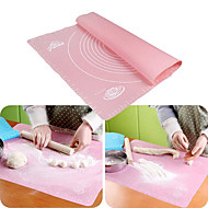 29*26cm Silicone Baking Mat Kneading Dough Mat Non-stick Silicone Baking Rolling Pastry Mat Cake Tool Sugarcraft Table Pad