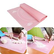 billige Bakeredskap-Bakeware verktøy Silikon Multifunksjonell / Økovennlig / baking Tool Brød / Til Småkake / Pai Rektangulær Bake & Mørdeigs Verktøy 1pc