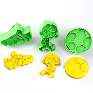 billige Kjeksverktøy-Cookieverktøy Blomst Kake Plastikker Barn GDS