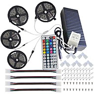 رخيصةأون أكثر شهرةr-SP002337/8234-ماء 20m (4 * 5m) 5050 rgb 600 led قطاع ضوء مع 44key ir تحكم بعيد عدة و 12v 10a eu / us / au / uk إمداد تموين مع sery يثبت قوس