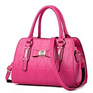 お買い得  バッグ-女性用 バッグ PU ショルダーバッグ のために アウトドア / オフィス&キャリア ピンク / グリーン / ディープブルー