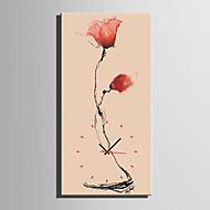 Moderno/Contemporâneo Outros Abstrato Floral/Botânico Relógio de parede,Rectângular Interior Relógio