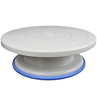 28cm Plastic Anti-slip Rotary Cake Turntable Revolving Stand Perfect Rotating Icing And Cake Decorating Tools