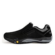 baratos Sapatos Masculinos-Homens Camurça / Couro Ecológico Primavera Conforto Tênis Aventura Preto / Castanho Claro / Khaki / Casamento
