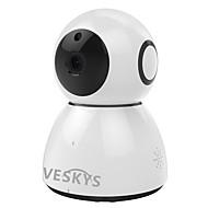 billige IP-kameraer-VESKYS 2.0 MP Innendørs with Dag Natt 64(Innebygd høyttaler Innebygget mikrofon Dag Nat Bevegelsessensor Dobbeltstrømspumpe Fjernadgang