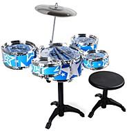 Bateria Brinquedo de música Brinquedo Educativo Bateria Jazz Drum Simulação Para Meninos Para Meninas Brinquedos Dom