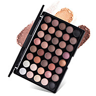 cheap Eye Shadows-New 40 Colors Eyeshadow Palette Dry Matte Shimmer Mineral Eyeshadow Palette Daily Makeup Halloween Makeup Party Makeup Fairy Makeup Cateye Makeup