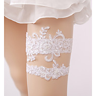Lace Wedding Garter with Imitation Pearl Wedding AccessoriesClassic Elegant Style