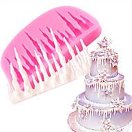 billige Bakeredskap-Bakeware verktøy silica Gel baking Tool / 3D / Kreativ Kjøkken Gadget Dagligdags Brug 3D Cake Moulds 1pc