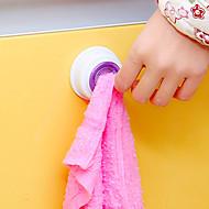 billige Kroker-Plast Nuttet Reisen Kreativ Kjøkken Gadget Selvklebende Hjem Organisasjon, 1set Sugekoppknagger Nyhet-Knagger Veggkroker Kjøkkenknagger