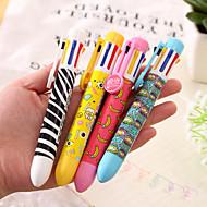 1 עט 8 כדורי צבע (צבע אקראי)