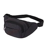 Damen Taschen Frühling/Herbst Sommer Nylon Hüfttasche für Sport Blau Grün Schwarz Braun
