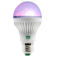 billige Globepærer med LED-YWXLIGHT® 1W 100-150 lm E27 LED-globepærer 5 leds SMD RGB AC 85-265V