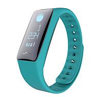 tanie Inteligentne zegarki-Inteligentna bransoletkaWodoszczelny Długi czas czuwania Spalone kalorie Krokomierze Rejestr ćwiczeń Sportowy Kamera/aparat Pulsometr