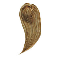 Uniwigs® Remy Human Hair Mono Hair Topper Closure Hair Topper Straight for Hair Loss (Y-22)