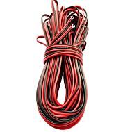 5m SMD 8mm 3528 10mm 5050 5630 단일 색상 2pin 방수 led 스트립 조명 커넥터 케이블에 대 한 빛 스트립 연장 케이블 라인을 주도