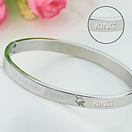 I stainless steel titanium bracelet bracelet jewelry jewelry hot Korean popular Valentine's Day