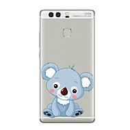 billiga Mobil cases & Skärmskydd-fodral Till huawei P9 / Huawei P9 Lite / Huawei P8 Genomskinlig / Mönster Skal Djur / Tecknat Mjukt TPU för P10 Plus / P10 Lite / P10 / Huawei P9 Plus / Mate 9 Pro