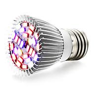 1pc 6W 800 lm E27 Uzgoj žarulja 28 LED diode SMD 5730 Toplo bijelo UV (crno svjetlo) Plavo Crveno AC 85-265V