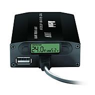 Χαμηλού Κόστους -Καθολικό προσαρμογέα φορητού υπολογιστή διπλής χρήσης 505k-100w με οθόνη οδήγησης δείχνει τάση