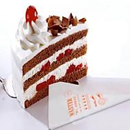 billige Bakeredskap-Bakeware verktøy Plast + Pcb + Vannavvisende Epoxydeksel Non-Stick / Til engangsbruk / GDS Kake / Til Småkake / Sjokolade Cake Moulds