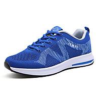 Χαμηλού Κόστους Παπούτσια για τρέξιμο-Ανδρικά Φως πέλματα Δίχτυ / PU Άνοιξη / Καλοκαίρι Αθλητικά Παπούτσια Πράσινο / Μπλε / Μαύρο / Άσπρο