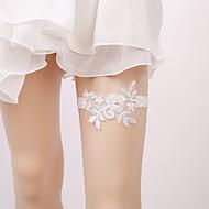 Elastičan Noga Grijači Zabava Sexy Vjenčanje Vjenčanja  -  Umjetni biser Aplikacije Podvezice