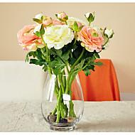 5 hoder / gren silke klut dugg lotus kunstige blomster hjemme dekorasjon
