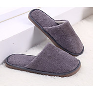 cheap Slippers-Casual House Slippers Men's Slippers Polyester Knit solid color
