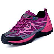 halpa -Naiset Kengät Tyll Kevät Syksy Valopohjat Urheilukengät Kävely Tasapohja Pyöreä kärkinen Solmittavat Käyttötarkoitus Purppura Punainen
