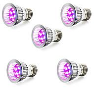 E14 GU10 E27 LED Grow Lights 10 leds SMD 5730 165-190lm Red Blue AC85-265