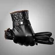 Herre Vanntett / Hold Varm / Vindtæt Fingerspidser Handsker Ensfarvet
