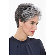 Natural Otherworldly Short Human Hair Wigs