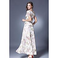 Žene Bluza Print Suknja