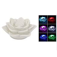 蓮の花のランプは、夜の光の休日の装飾品を変える色を導いた