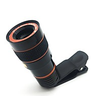 Lente de câmera de telescópio lente de câmera de zoom óptico zoom hd 8x para telefone celular com clipe universal adequado para iphone