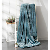 cheap Blankets & Throws-Super Soft, Printed Solid Colored Polyester Blankets