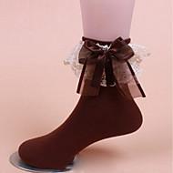 お買い得  靴用品-女性用 ソックス Standard ソリッド 抗菌 スウィート ファブリック インチューブ EU36-EU42