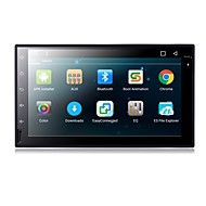 Android 6.0 7 inch mașină dvd player cu conector quad-core a9 1.6ghz / radio / wifi / 4g / gps / rds