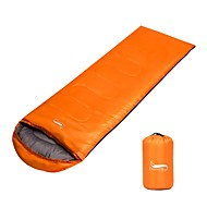 Vreća za spavanje Vanjski Pravokutna vreća -15 -25 0 °C Bračni Hollow Pamuk Prozračnost Ugrijati Podesiva veličina Može se sklopiti 225*75 cm za Camping & planinarenje