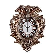 コンテンポラリー 伝統風 田園風 カジュアル レトロ風 動物 壁時計,象 アニマル 樹脂 屋内 クロック