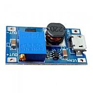 Dc-dc 2a nastavitelný modul pro zvýšení výkonu micro usb dc
