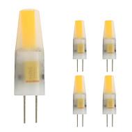 billige Bi-pin lamper med LED-2W G4 LED-lamper med G-sokkel T 1 leds COB Varm hvit 160lm 2800-3500;
