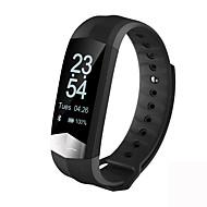 tanie Inteligentne zegarki-Inteligentna bransoletkaWodoszczelny Spalone kalorie Krokomierze Pulsometr Pomiar ciśnienia krwi Informacje Obsługa aparatu Anti-lost