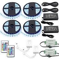 Χαμηλού Κόστους Φωτιστικά Λωρίδες LED-20χιλ Σετ Φώτων 1200 LEDs RGB Τηλεχειριστήριο / Μπορεί να κοπεί / Με ροοστάτη 100-240 V