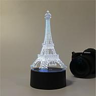 1set Dekorativ Farveskiftende Dekorations Lys LED Night Light USB Lys-3W-Batteri USB