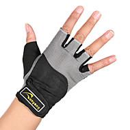 Sporthandschuhe Halbe Finger Atmungsaktiv Komfortabel für Freizeit-Radfahren Übung & Fitness Bergsteigen Draußen Fitnessstudio